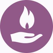 Icon Energie aus einer Hand